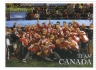 Members of Baseball Canada's Senior National Team celebrate after winning gold at the 2011 Pan-Am Games. The team was inducted into the Canadian Baseball Hall of Fame on Saturday. Photo courtesy of Canadian Baseball Hall of Fame.