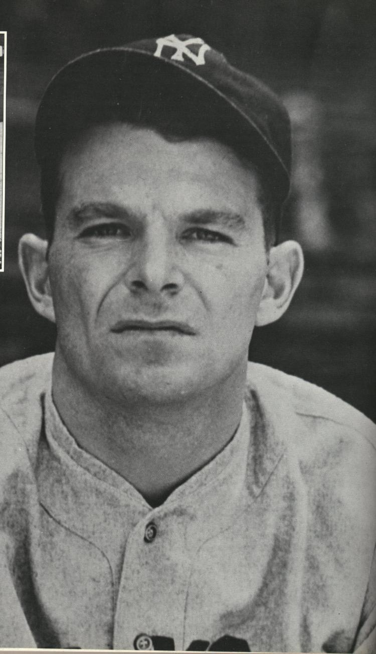 Huntsville, Ont., native George Selkirk won five World Series rings with the New York Yankees. (Photo: Courtesy of the Canadian Baseball Hall of Fame).