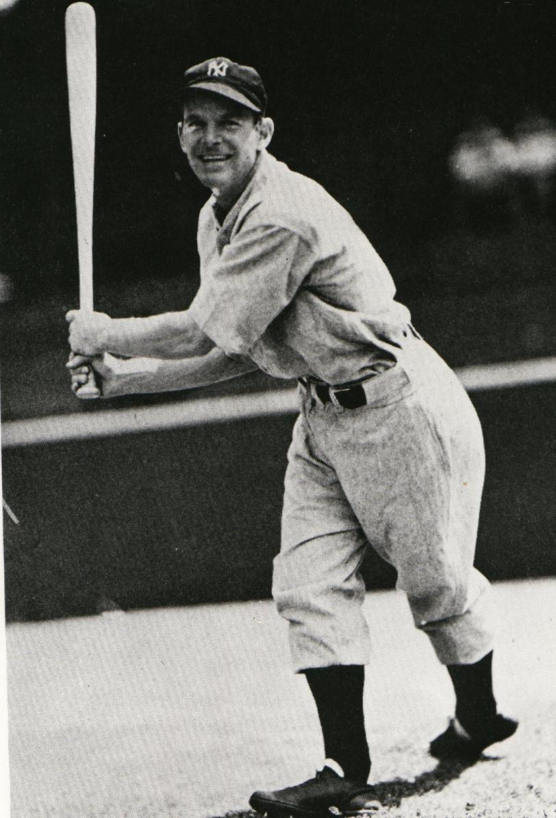 Huntsville, Ont., native George Selkirk hit .333 for the New York Yankees in the 1936 World Series. (Photo: Courtesy of the Canadian Baseball Hall of Fame).