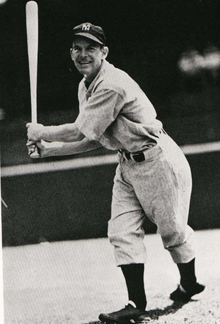 Huntsville, Ont., native George Selkirk once homered four times off of the same pitcher in a two-game span. (Photo: Courtesy of the Canadian Baseball Hall of Fame)