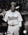 I purchased this great photo of Jackie Robinson with the Montreal Royals at a memorabilia store called Mickey's Place in downtown Cooperstown. It is licensed by Jackie's wife Rachel through CMG Worldwide. I hadn't seen this photo before.