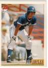 Canadian Baseball Card of the Week: 1993 Bowman Rob Butler. In 1993, this Toronto native became the only Canadian player to earn a World Series ring with a Canadian team. He played parts of four seasons in the big leagues with the Blue Jays and Phillies. He now operates the Home Run Baseball Academy Inc. in Ajax, Ontario.
