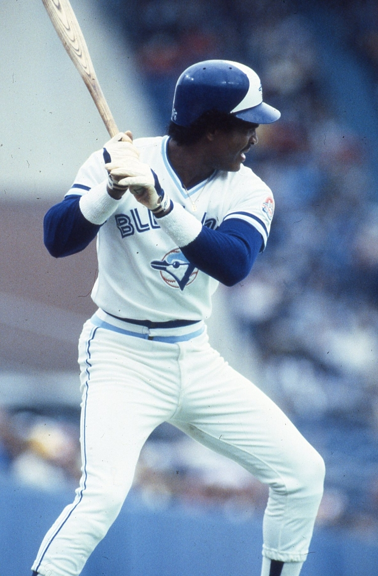 Blue Jays great George Bell will be inducted in the Canadian Baseball Hall of Fame in St. Marys, Ont., on June 29. (Photo courtesy of Canadian Baseball Hall of Fame)
