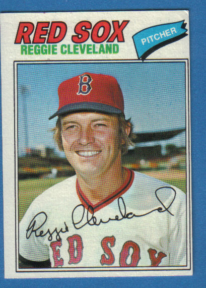 Canadian Baseball Card of the Week: 1976 Topps Reggie Cleveland. Signed by the St. Louis Cardinals in 1965, this Swift Current, Sask., native made his major league debut on October 1, 1969. It wasn't until 1971, however, that the he became a regular in the Cards' rotation. On the strength of 12 wins and 10 complete games that season, he was named The Sporting News Rookie Pitcher of the Year. His finest major league season came in 1973 when he posted a 14-10 record and a 3.01 ERA. In 1975, Cleveland became the first Canadian to start a World Series game when he got the nod in Game 5. The durable righty pitched largely out of the bullpen with Texas and Milwaukee at the end of his 13-year big league career that saw him accumulate 105 career wins, fourth-most by a Canadian behind Fergie Jenkins (284), Ryan Dempster (124), and Kirk McCaskill (106).