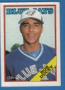 Canadian Baseball Card of the Week: 1988 O-Pee-Chee Rob Ducey. One of Canadian Baseball Hall of Fame's class of 2013, Ducey was born in Toronto, Ont., but raised in Cambridge. Born in Toronto in 1965, Ducey was raised in Cambridge, Ont. The left-handed hitting outfielder was signed as a free agent by the Blue Jays in 1984. After being named MVP of the Rookie Ball Medicine Hat Blue Jays that year, he rose through the organization's ranks to make his big league debut on May 1, 1987. His first major league homer came on September 14, 1987 in a contest in which the Jays clubbed a big league record 10 round-trippers to defeat the Orioles 18-3.  The talented Canadian suited up for parts of five more seasons with the Jays, prior to being dealt to the Angels in 1992. Tenures with the Texas Rangers, Seattle Mariners and Philadelphia Phillies would follow, as well as a two-year stint in the Japanese Pacific League with the Nippon Ham Fighters in 1995 and 1996 that saw him belt 51 home runs. He returned to Toronto for five games in 2000 and saw his final big league action with the Montreal Expos in 2001, making him the second Canadian (along with Denis Boucher) to start his major league career with the Jays and end it with the Expos. Ducey is also one of only four Canadians (Boucher, Shawn Hill and Matt Stairs are the others) to suit up for both the Jays and Expos. In all, Ducey played 19 seasons in professional baseball, making him one of just 12 Canadians to do so.   Following his professional career, Ducey competed for Canada at the 2004 Olympics and served as a coach at the 2006 World Baseball Classic and 2008 Olympics. He has also been a scout for the Blue Jays and is currently working in player development for a Mexican League team.