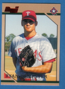 Canadian Card of the Week: 1996 Bowman Ryan Dempster. This 36-year-old Gibsons, B.C., native has recorded the second-most wins (126) by a Canadian in the big leagues (Fergie Jenkins has 284 wins). Now in his 16th major league season, he has posted 10 or more wins in eight campaigns. He also notched 85 saves at the Cubs' closer from 2005 to 2007. The two-time all-star signed a two-year, $26.5-million contract with the Red Sox in the off-season.