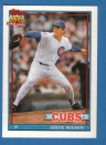 Canadian Baseball Card of the Week: Born in Victoria, B.C. in 1965, Steve Wilson pitched in parts of six big league seasons with the Texas Rangers, Chicago Cubs and Los Angeles Dodgers. In 205 career games, the Canuck southpaw, who pitched primarily in relief, posted 13 wins. He currently serves as the Pacific Rim scouting supervisor for the Chicago Cubs.