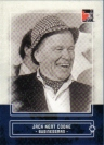 Canadian Baseball Card of the Week: 2011 In The Game Canadiana Jack Kent Cooke. A natural salesman, Jack Kent Cooke was born in Hamilton but moved to The Beaches area in Toronto in 1921. By age 14, he was a successful door-to-door encyclopedia salesman, and after a string of prosperous business ventures, including owning radio stations and publications, Cooke purchased the International League's Toronto Maple Leafs in 1951.     Under his flamboyant reign, the club drew more than 3.3 million fans to Maple Leaf Stadium from 1951 to 1963. Creative and sometimes off-the-wall, Cooke's promotions made attending a game in Toronto an event. For his efforts, he was named minor league executive of the year by The Sporting News in 1952, when the Leafs drew 446,040 fans – an attendance mark that topped some major league clubs. While Cooke was the owner, the Maple Leafs won pennants in 1954, 1956, 1957 and 1960.     The ambitious owner passionately believed that Toronto was worthy of a big league team and harangued local politicians to build a larger stadium. While in Toronto, Cooke made attempts to purchase the St. Louis Browns, Philadelphia Athletics and Detroit Tigers. But when his dream of bringing the big leagues to Toronto was thwarted, he moved to the U.S., where he would eventually own several pro sports franchises, including the Washington Redskins, Los Angeles Lakers and Los Angeles Kings.