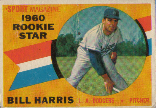 Canadian Baseball Card of the Week: 1960 Topps Billy Harris (2008 Canadian Baseball Hall of Fame inductee)