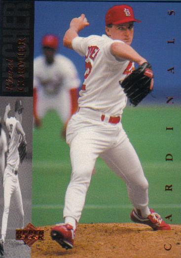 Canadian Baseball Card of the Week: 1994 Upper Deck Rheal Cormier