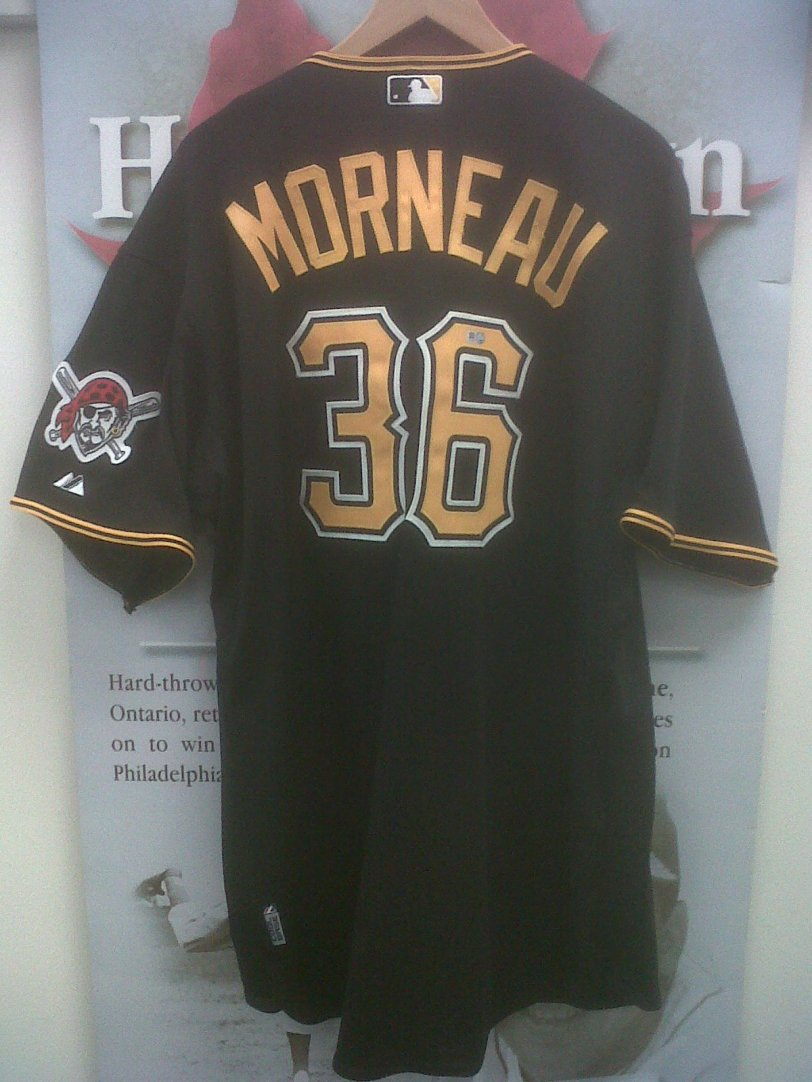 Justin Morneau Pittsburgh jersey