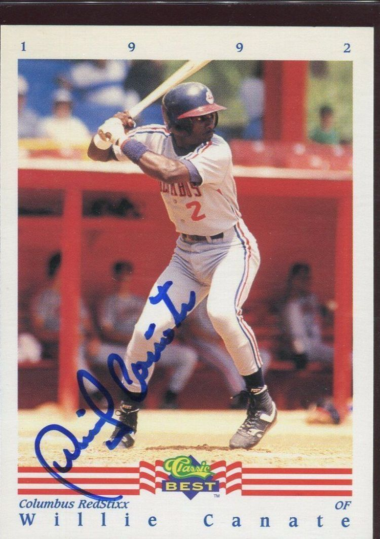 Collectors will tell you that Willie Canate is one of the toughest autographs to track down of members from the Toronto Blue Jays' 1993 World-Series-winning squad.