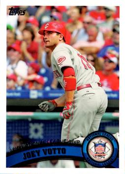 Votto baseball card