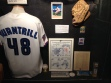 The display on Port Hope, Ont., native Paul Quantrill at the Canadian Baseball Hall of Fame. (Photo: Zach Harmer, Canadian Baseball Hall of Fame)