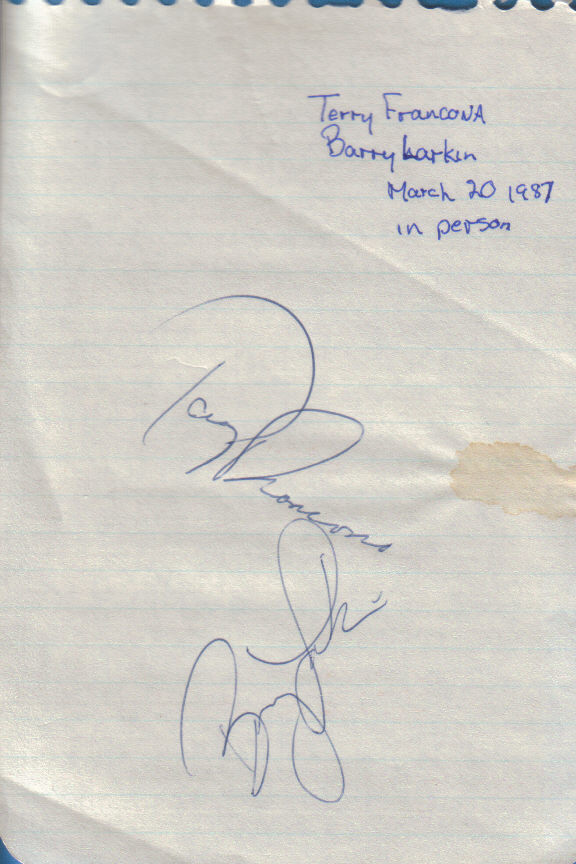 Twenty eight years ago, I got my first two autographs in Dunedin, Fla. In hindsight, not bad at all.