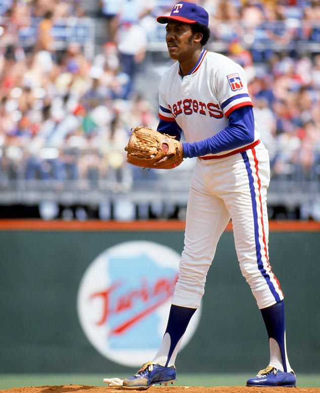 Chatham, Ont., native Fergie Jenkins won a career-best 25 games for the Texas Rangers in 1974.