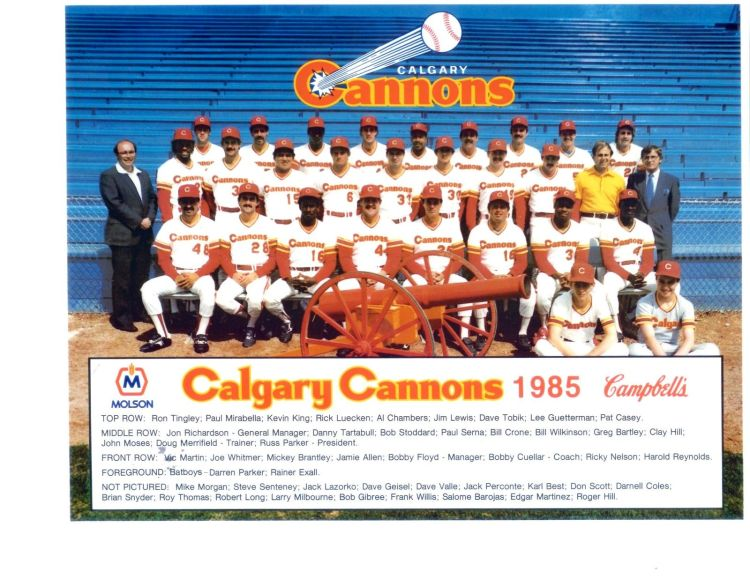 CalgaryCannons1985