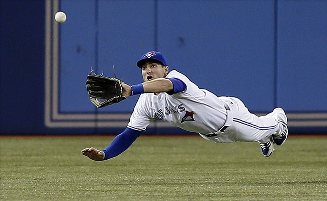 Blue Jays centre fielder Kevin Pillar deserved a Gold Glove Award.